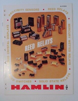 1981 Hamlin Inc Reed Relays Catalog