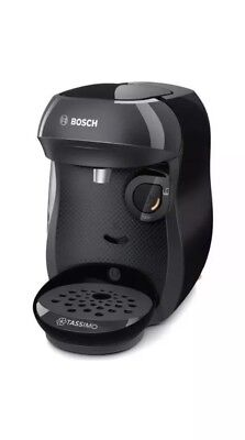 TASSIMO by Bosch Happy TAS1002GB Coffee Machine Black New Model Bnib