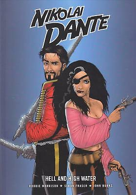 Nikolai Dante - Hell And High Water (2000AD/Rebellion paperback)