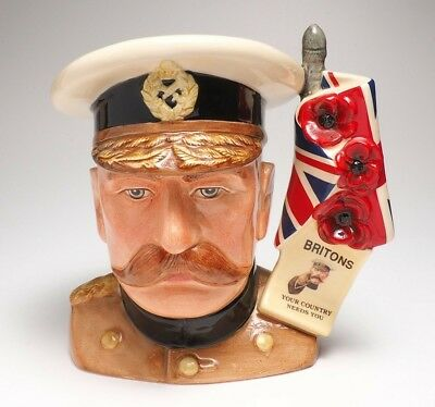 "Royal Doulton ""Lord Kitchener""  D 7148 Limited Edition"