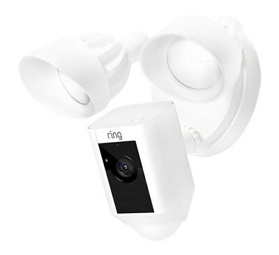 Ring 88FL000CH000 Motion-activated HD Security Camera Floodlight - White