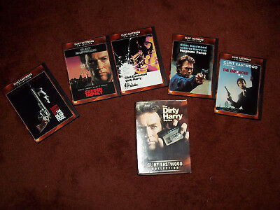 Dirty Harry Series Clint Eastwood Collection DVD Set