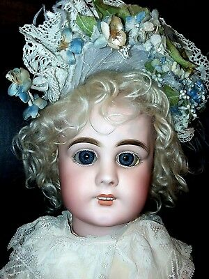 Antique DEP/ Jumeau, SH ? Bebe Bisque French Doll 24""