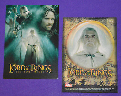 Hobby Japan LORD OF THE RINGS TWO TOWERS Poster card #3 of 3 (Non-Foil)