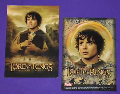 Hobby Japan LORD OF THE RINGS TWO TOWERS Poster card #1 of 3 (Non-Foil)