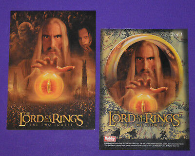 Hobby Japan LORD OF THE RINGS TWO TOWERS Poster card #2 of 3 (Non-Foil)