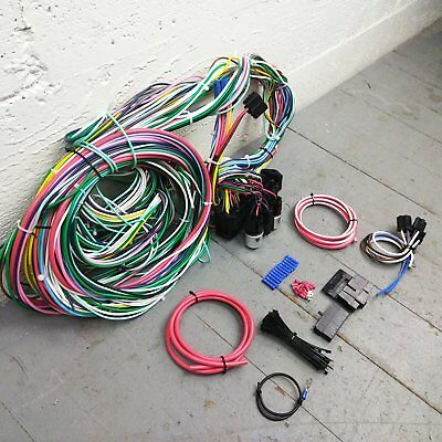 Chevrolet S10 Wire Harness Upgrade Kit fits painless compact fuse block terminal