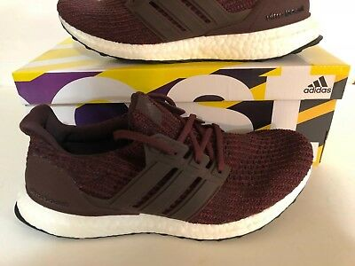 73b24b05bf3 adidas UltraBOOST 4.0 Night Red White Mens Running Shoes Sneakers CM8115  Size 8