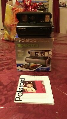Vintage 1999 or Later Polaroid Spectra  Camera in Box.