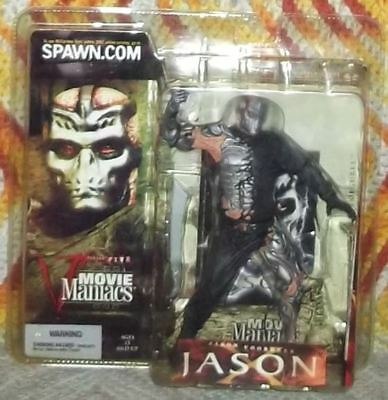JASON X McFarlane Movie Maniacs 5 Action Figure - Friday The 13th Voorhees NECA