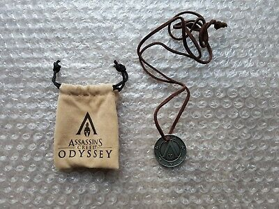 MEDAL NECKLACE, MEDALLION for Assassin's Creed Odyssey Pantheon Edition (NEW)