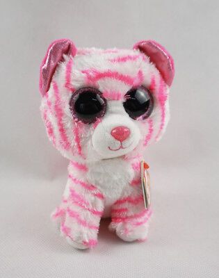 "6"" TY Beanie Boo Asia the Tiger With Tag Soft European Exclusive Plush  Toys New"