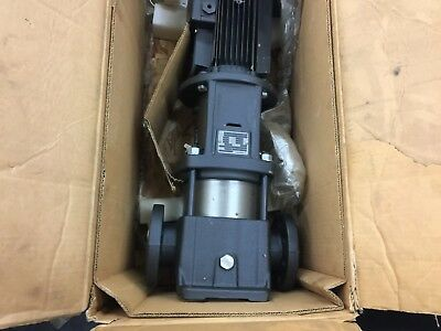 New In Box Grundfos Complete Unit Pump And Motor 5Hp 230/460 3Phase Cr15-02 A-Gj