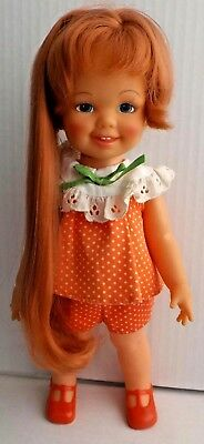 """Vintage Ideal 12"""" Cinnamon Doll (Crissy's Little Cousin) with Hair that Grows"""
