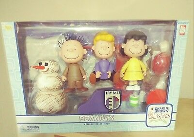 Peanuts A Charlie Brown Christmas Figure Collection Pigpen Lucy Schroeder 2003