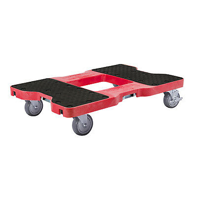 1200 Lb Professional E-Track Dolly Red