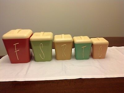Retro Gay Ware Kitchen Canisters
