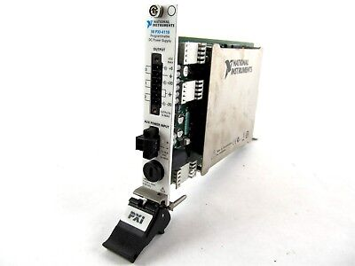 National Instruments NI PXI-4110 3-Ch 20V 1A PXI Programmable DC Power Supply