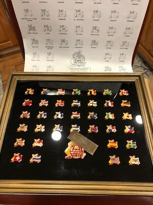 Mcdonalds Limited Edition Commemorative 36 Pin 30Th Birthday Set