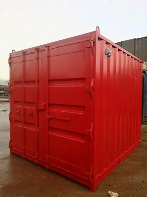 10 ft Long 8 ft Wide  Rigging Loft / Tackle Store / Steel Storage Container Besp