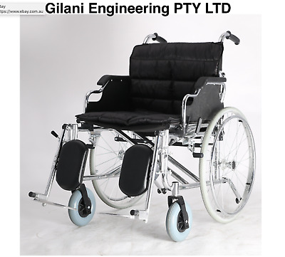 Heavy Duty foldable manual Wheelchair With Adjustable Leg Support -GILANI ENGINE