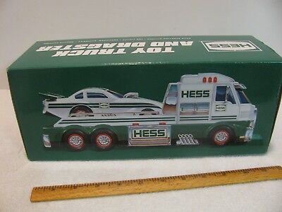 New 2016 HESS Toy Truck And Dragster Brand New In Box Collectors Edition