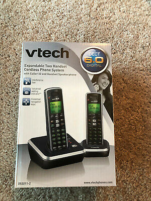 RCA ELEMENT DECT 6 0 Cordless Phone with 2 Handsets & Caller
