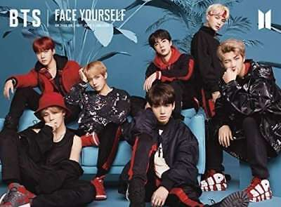 BTS FACE YOURSELF Initial Limited Edition A CD + Blu-ray