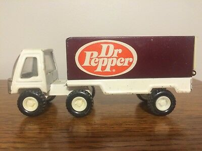Vintage Dr Pepper Soda Buddy L Pressed Steel Delivery Truck