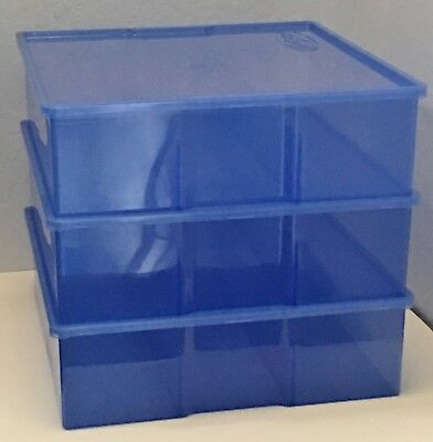 Hot Cases Blue - 3 Pack New – Hot Wheels & Matchbox Die-cast Storage HotCases