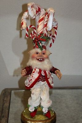 Mark Roberts Candy Cane Elf Small