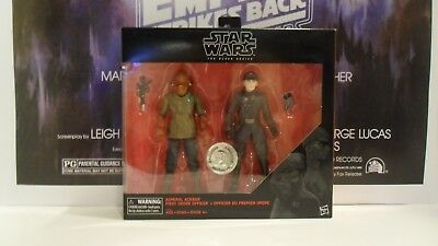 "Star Wars The Black Series 6"" inch Admiral Ackbar FO Officer Toys R Us Exclusive"