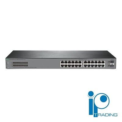 JL381A - Used HPE Aruba OfficeConnect 1920S Gigabit 24Port 2 SFP Managed Switch