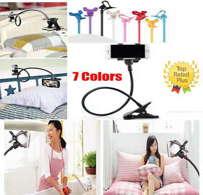 Flexible Long Arm Lazy Stand Clip Holder for MobilePhone Tablet iPad Desktop Bed