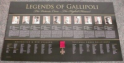 The Victoria Cross  Legends Of Gallipoli  The Highest Honour