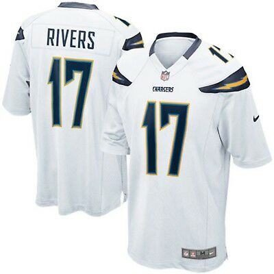 NIKE PHILIP RIVERS Los Angeles Chargers Youth White Team Color Game  supplier