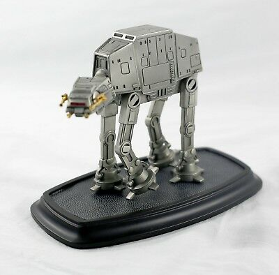 Franklin Mint 1993 Star Wars Pewter (w/ Gold Accent) AT-AT Walker