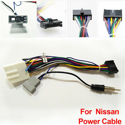 CAR STEREO 20PIN Wiring Harness Connector Adapter Android ... on