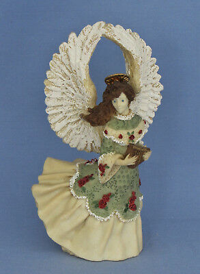 Vintage Musical Flight Angel Resin United Design Corp Aa 062