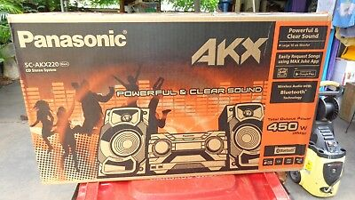 New In Box Panasonic Cd Stereo System Sc-Akx220 Never Used Box Sealed Jukebox Ap