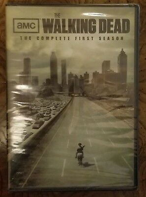 AMC's The Walking Dead: The Complete First Season DVD 2 Disc Set BRAND NEW $7.99