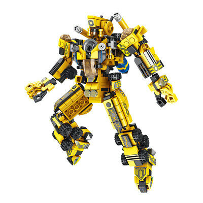576 pcs Transforming Robot 12-in-1 Program Mecha Blocks Kid Educational Toys