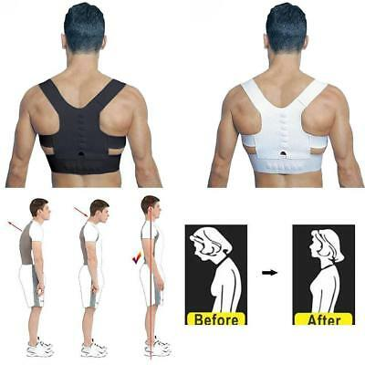 Therapy Back Brace Posture Correction Corrector Clavicle Shoulder Support-Spine