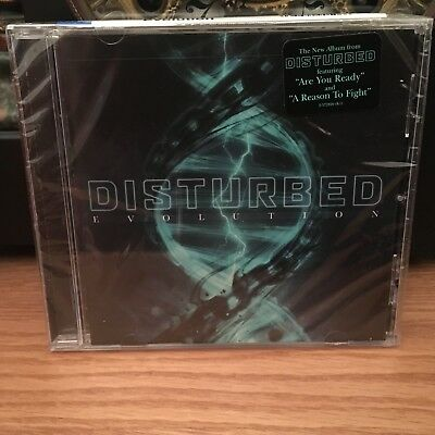 Disturbed EVOLUTION Reprise Like New SEALED Heavy Metal CD 2018 Hype