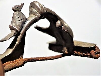 Roman SIilver Anchor Type Fibula/Brooch with a Bird on it.INTACT.
