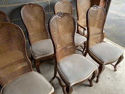 10x Drexel Dining Chairs