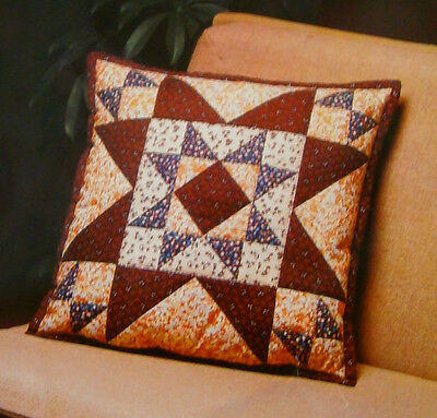 Collectors Quilted Patchwork Cushion Cover Cotton Kit Easy Sewing Instructions