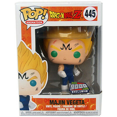 Funko POP Animation #445 Dragon Ball Z Majin Vegeta Vinyl Action Figure Over9000