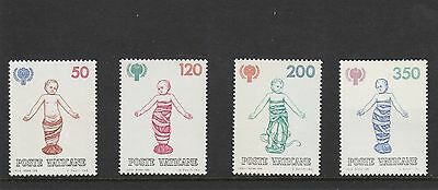 Vatican City - 1979 - International Year Of The Child - Set (4V) - Mnh