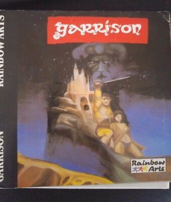 Garrison (Rainbow Arts, 1988 C 64 (Disk) (Game, Cover, Manual)